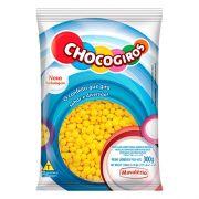 Chocogiros Mini Pastilha Sabor Chocolate - Amarela