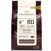 Chocolate Em Gotas Amargo 811 (54,5% CACAU) 1KG - Callebaut