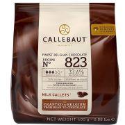 Chocolate ao Leite Callebaut nº 823 33,6% Cacau 400g