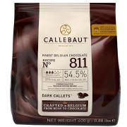 Chocolate Em Gotas Amargo 811 (54,5% CACAU) 400g - Callebaut