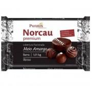 Cobertura fracionada Premium Meio Amargo 1,01KG - NORCAU