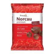 Cobertura Premium Gotas Chocolate Ao Leite 1kg - NORCAU