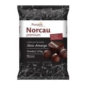 Cobertura Premium Gotas Chocolate Meio Amargo 1kg - NORCAU