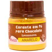 Corante Em Pó Para Chocolate Lipossolúvel Amarelo 5g - Mago