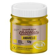 Corante para Chocolate em Gel Mix Amarelo 12g