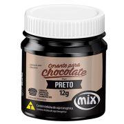 Corante para Chocolate em Gel Mix Preto 12g