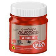 Corante para Chocolate em Gel Mix Vermelho 12g