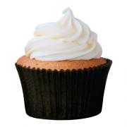 Forminha P/ Cupcake MAGO Nº0 (45uni) - Preta