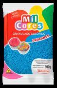 Granulado Crocante Mil Cores Mavalério 500g - Azul