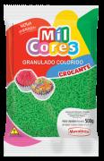 Granulado Crocante Mil Cores Mavalério 500g - Verde