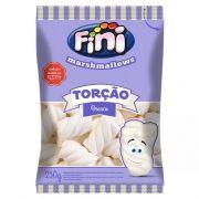 Marshmallow Torção Branco 250g - Fini