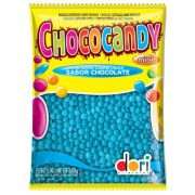 Mini Confete de Chocolate Chococandy Dori (350g) - Azul