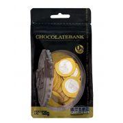 Moedas De Cobertura Sabor Chocolate Ao Leite 120g - Chocolatebank