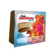 Pasta Americana Colorida Vermelha 500g - Arcolor