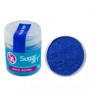 Pó Para Decoração Azul Royal 3g - Sugar Art