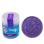 Pó Para Decoração Lilás 3g - Sugar Art