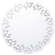 Toalha de Papel Rendada MAGO (10/uni) Branco -  30 cm