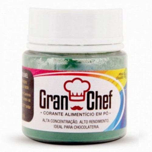 Corante Gran Chef Lipossolúvel Verde 5g