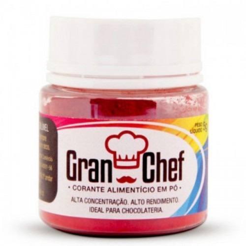 Corante Gran Chef Lipossolúvel Vermelho 5g