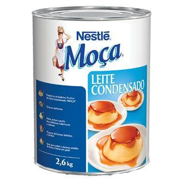 Leite Condensado Moça Nestlé 2,61kg