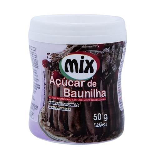 Açúcar de Baunilha Mix 50g