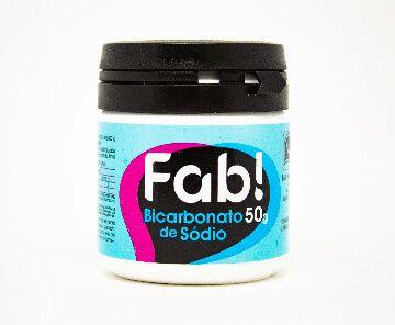 Bicarbonato de Sódio 50g - Fab!