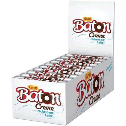 Chocolate Baton Creme (30/Uni)- Garoto
