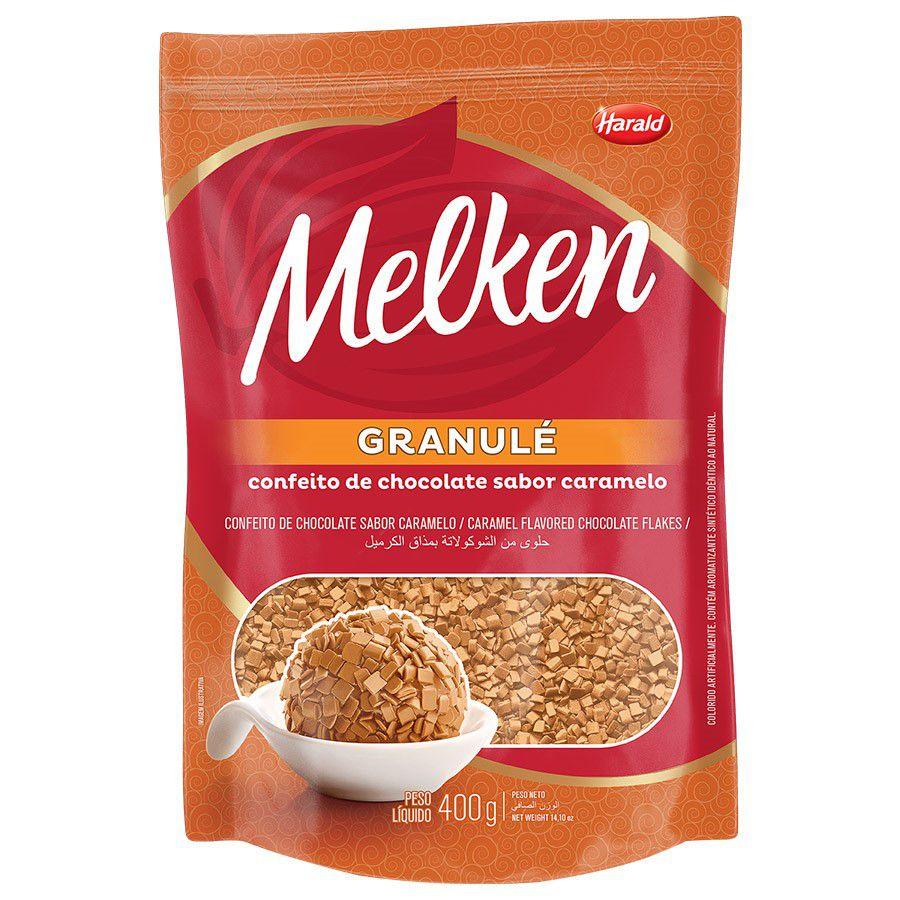 Granulado Sabor Caramelo Granulé 400g - Melken