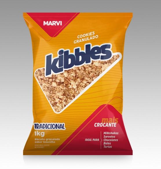 Cookies Granulado Kibbles 1kg - Marvi