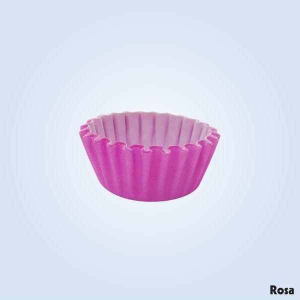 Forminha de Papel N°3 (100/Uni)  Plac - Rosa