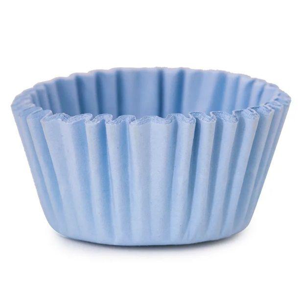 Forminha de papel N°4 (100/Uni) Azul Claro - Cromus