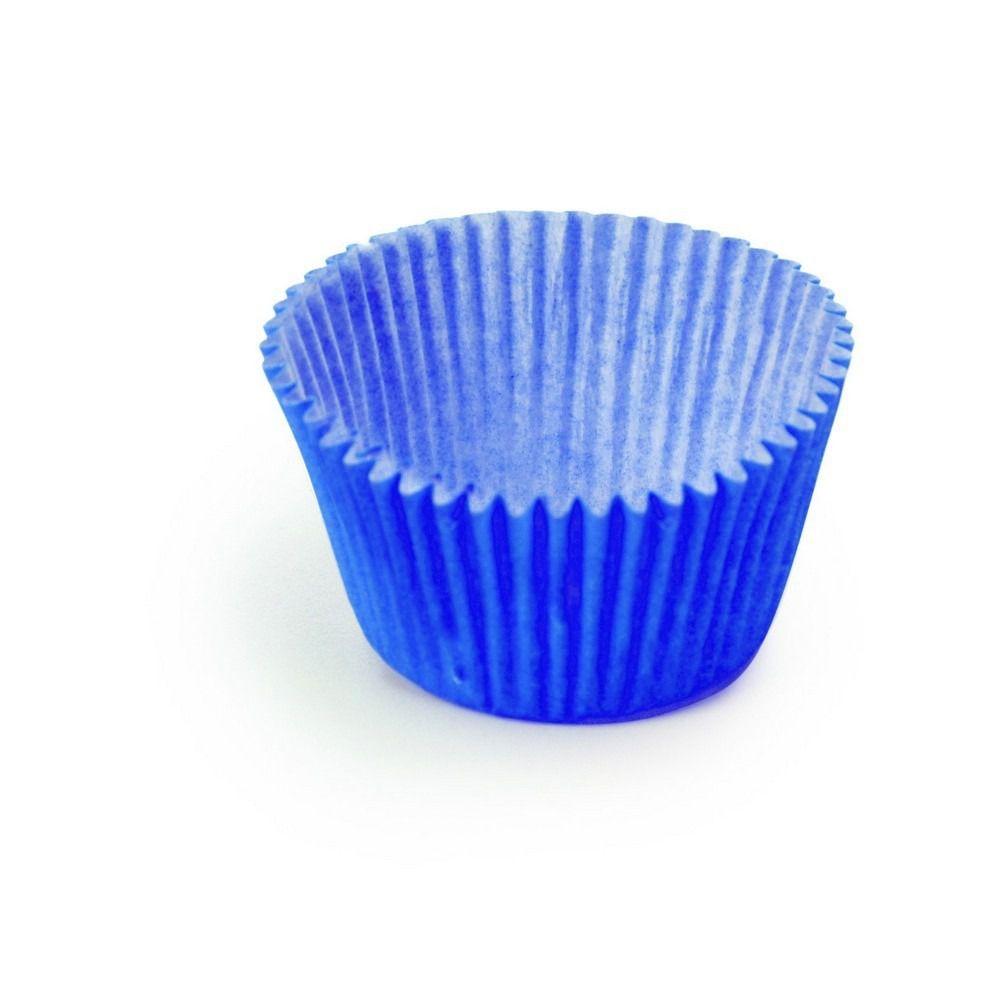 Forminha de papel N°4 (100/Uni) Azul Royal - Cromus