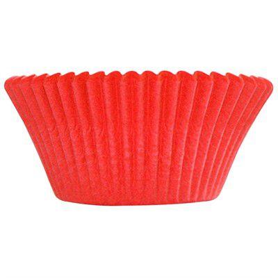 Forminha P/ Cupcake ULTRA FEST (57uni) - Vermelha
