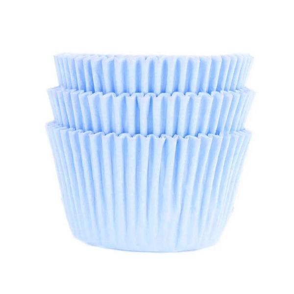 Forminha para MiniCupcake MAGO N2 (45uni) - Azul Bebê