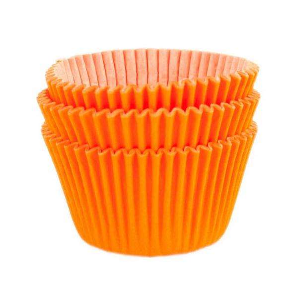 Forminha para MiniCupcake MAGO N2 (45uni) - Laranja