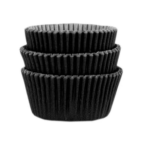 Forminha para MiniCupcake MAGO N2 (45uni) - Preta