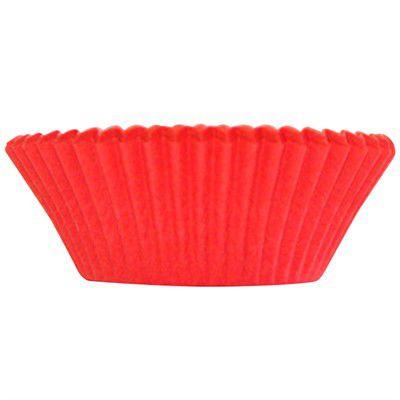 Forminha para MiniCupcake ULTRA FEST (54uni) - Vermelho