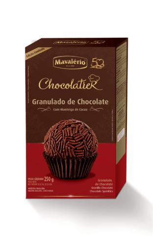 Granulado De Chocolate 250g Chocolatier - Mavalério