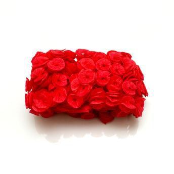 Papel De Bala Caracol C/ 40 Unidades (Vermelho) - Real Seda