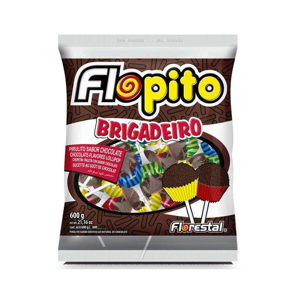 Pirulito Sabor Chocolate 600g - Florestal