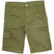 Bermuda de Sarja Infantil Masculino Quimby 27723 Verde