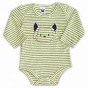 Body de Bebê Amarelo com Bordado Bear - Sophy