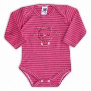 Body de Bebê Rosa com Bordado Cat Love - Sophy