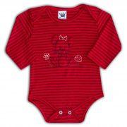Body de Bebê Vermelho com Bordado Jerry - Sophy