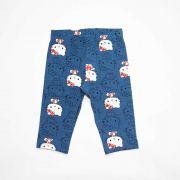 Calça Infantil Feminino Hello Kitty 87929 Azul