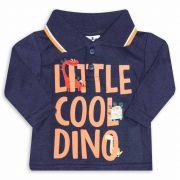 Camiseta Gola Polo Infantil Andritex 042 Marinho