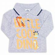 Camiseta Gola Polo Infantil Andritex 042 Mescla