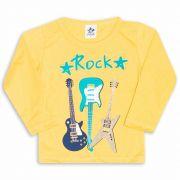 Camiseta Infantil Andritex 020 Amarelo