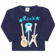 Camiseta Infantil Andritex 020 Marinho