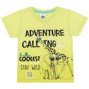 Camiseta Infantil Masculino Adventure - Ref 4865 - Verde - Andritex